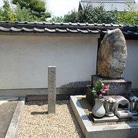 境内にある、当地で善政を執いたかつての藩主「松倉豊後守」の顕彰碑