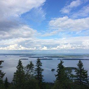 View from Ukko-Koli