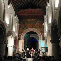 Inside St Mary's church Hemel Hempstead