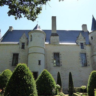 Façade arrière du château