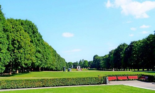 потрясающий парк Вигеланда