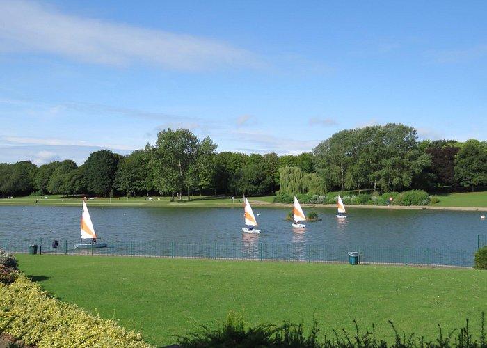 The sailing lake