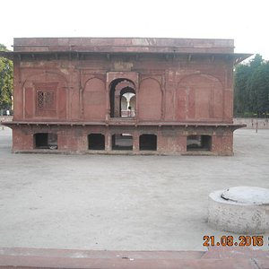 View of Zafar mahal