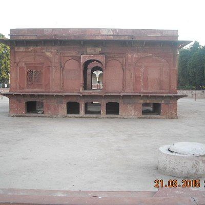View of Zafar mahal