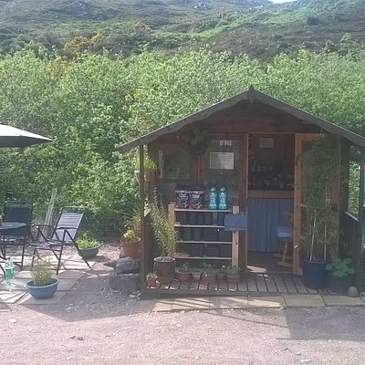 Summerhouse - where you can relax and make yourself a brew for free!