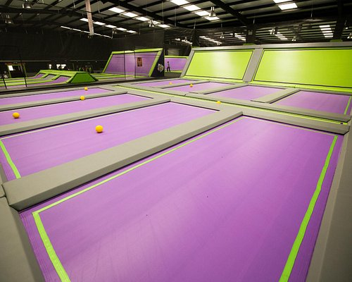 Jump Giants Dodgeball Courts