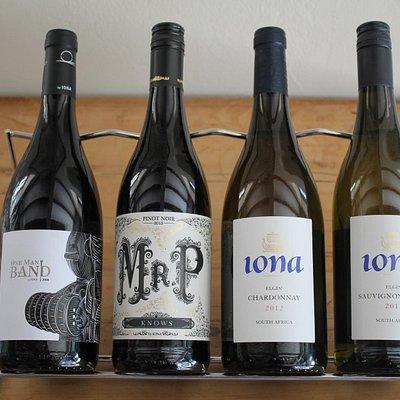 Wine tasting at Iona