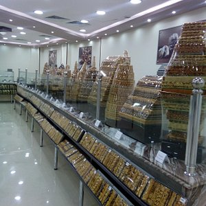 a sweet shop which offers the best items of oriental sweets and Turkish delight