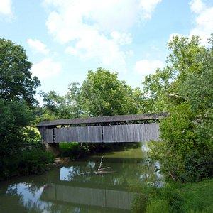 Switzer Covered Bridge and Stream