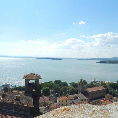 Passignano - Veduta dalla Rocca