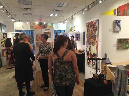 Wandering Eye Art Gallery Local Art!