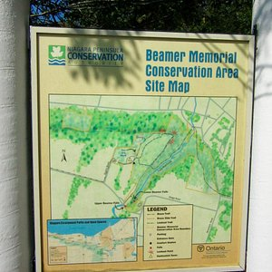 Map of the conservation area