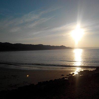 suasana pagi di pantai rua - agustus 2015