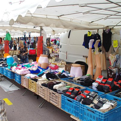 Sur le marché du Touquet
