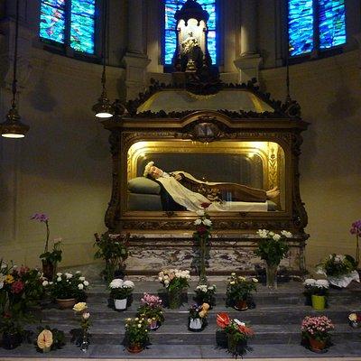Sarkophag der heiligen Thérèse