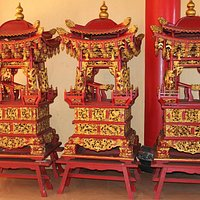 Small Carriages for carry deities during ceremony