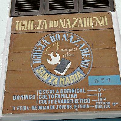 International Church of Nazarene in Santa Maria, Sal, Cape Verde