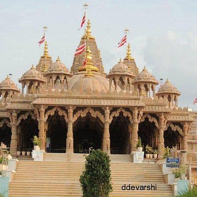 SMVS Shri Swaminarayan Temple Mahesana gujarat