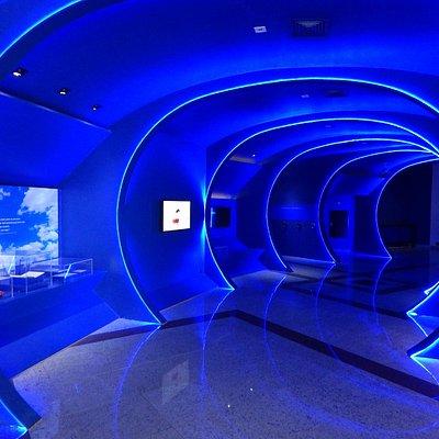 túnel multimidia