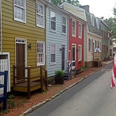 Hogsheads Tavern located at 43 Pinkney Street, Annapolis, Md. Occasionally open thanks the publi