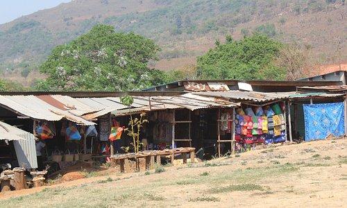 mercado de artesanato - Suazilândia