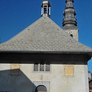 Eglise St Nicolas Combloux