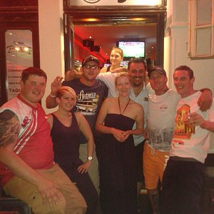 amazing bar massive warm welcome by the proprietors and staff .. 4 south wales boys 1st time in