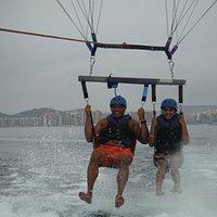 Pirate parasailng
