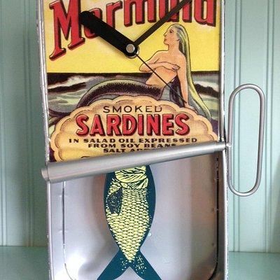 Mermaid Clock from the Twig Gallery