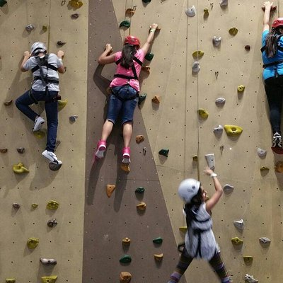 Sky Trail and Climbing Wall