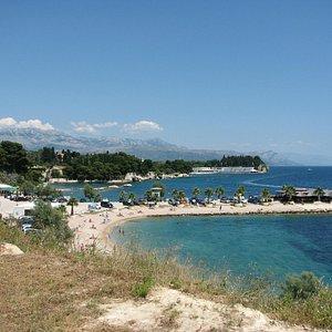 Kastelet Beach from the Kastelet