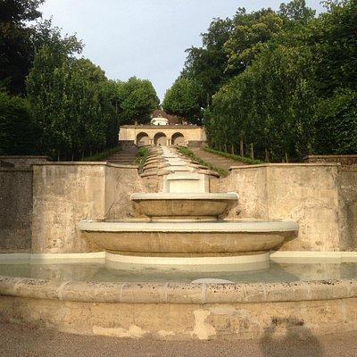 Wasseranlage Paradies unterer Bereich