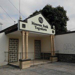 Batik Museum frontage towards main road