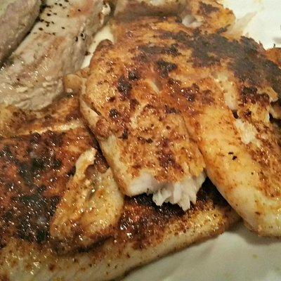 Triple fin - blackened and grilled