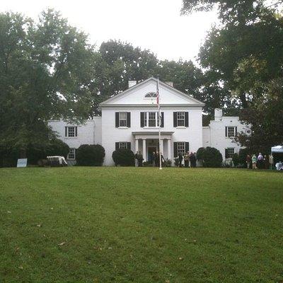 Charles Washington's Happy Retreat in Charles Town.