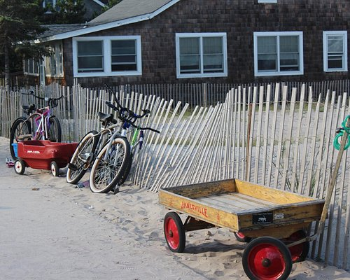 Wagons & Bikes - That's How We Roll On Fire Island