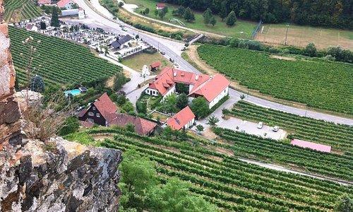 Hotel von der Burg aus