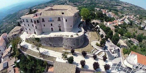 Castello Gesualdo - Veduta dall'alto