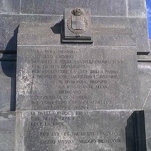 a tutti i caduti della 1 guerra mondiale