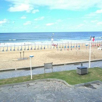 Playa de Deba from my hotel room