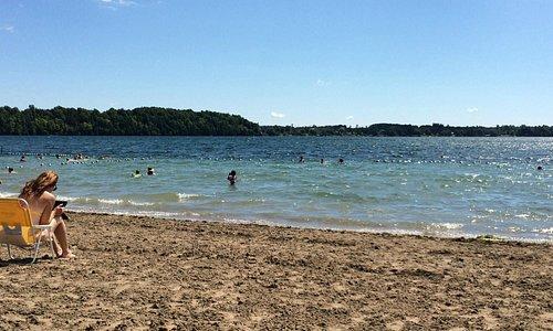 Beach at Grass Creek Park