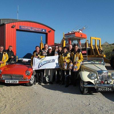 Broadland MGOC visit Caister Lifeboat station