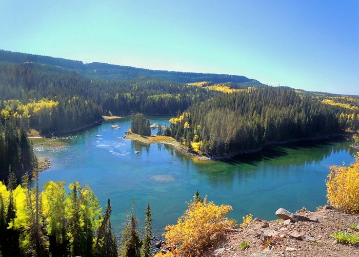 One of the 300 alpine lakes on the Grand Mesa