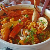 My World's Best Seafood Soup