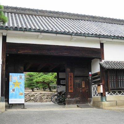 Street entrance to the Hayashibara Museum of Art