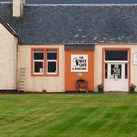 The Nice Cafe and Bookshop, Kyleakin, Isle of Skye, Scotland, Aug 2015