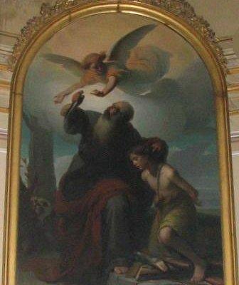 Chiesa Nostra Donna di Loreto - Pittatore  sacrificio di Isacco