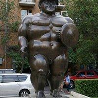 Скульптура «Римский воин»
