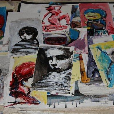 Sanlly Viera, artista cubano