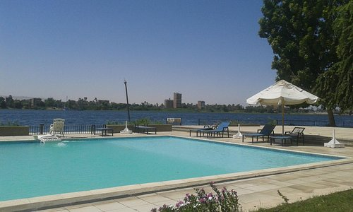 pool just in front of Nile